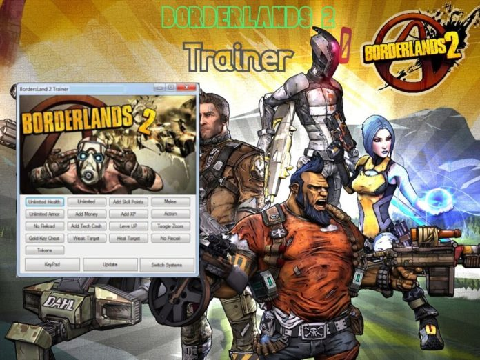 Borderlands 2 Trainer cheats