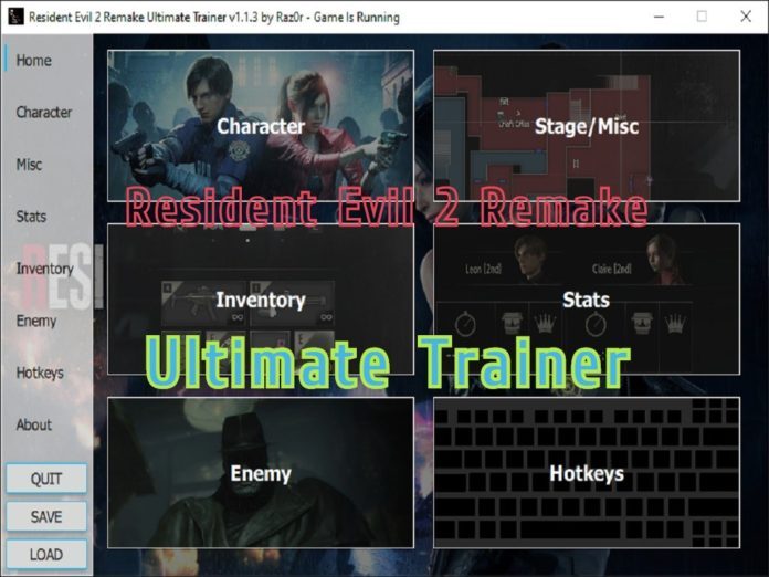 Resident Evil 2 Remake Trainer