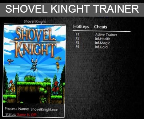 Shovel Knight Trainer